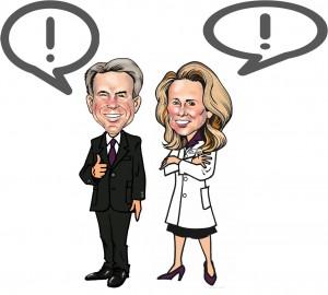 Dr Lisa Lang and Brad Stillahn Discuss