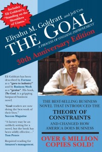 The Goal book by Eliyahu Goldratt