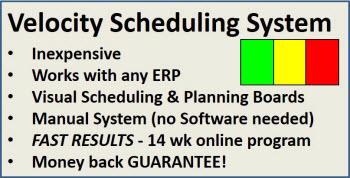 Machine Shop Scheduling graphic image